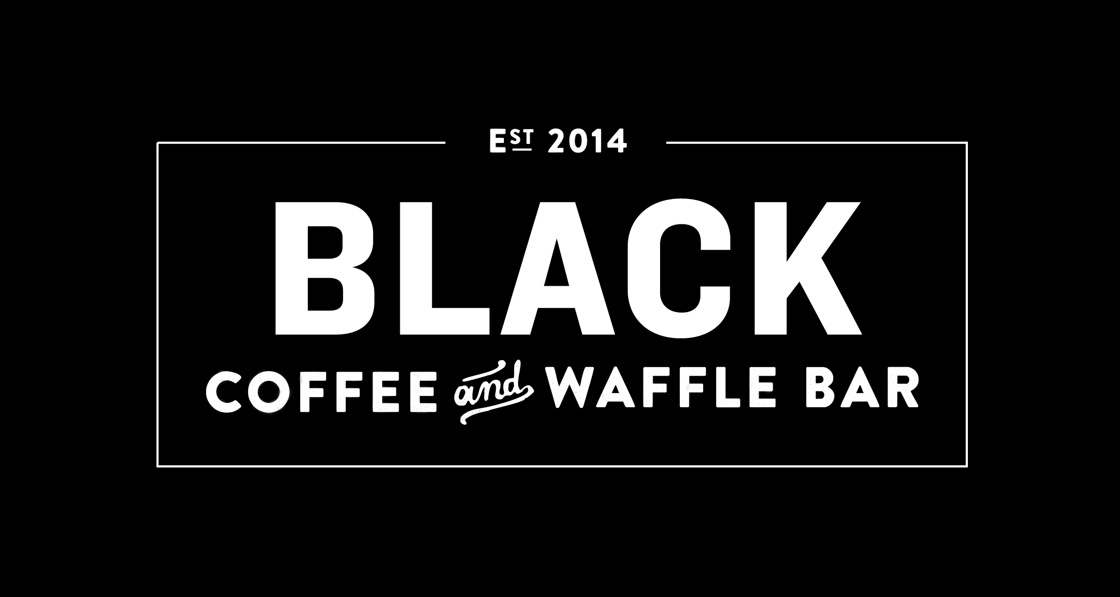 products | black coffee and waffle bar