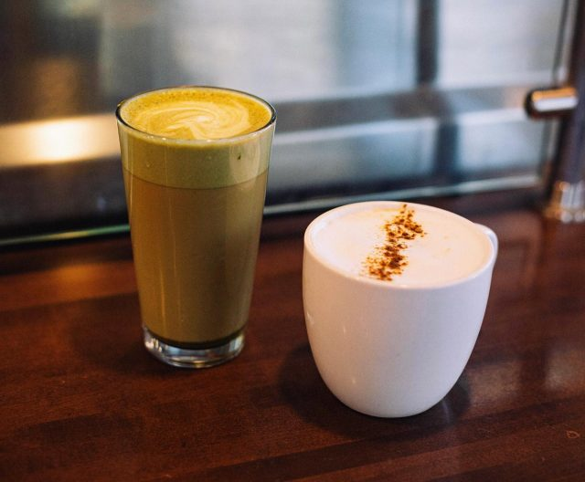 not in the mood for coffee? Try our matcha or chia lattes ✨