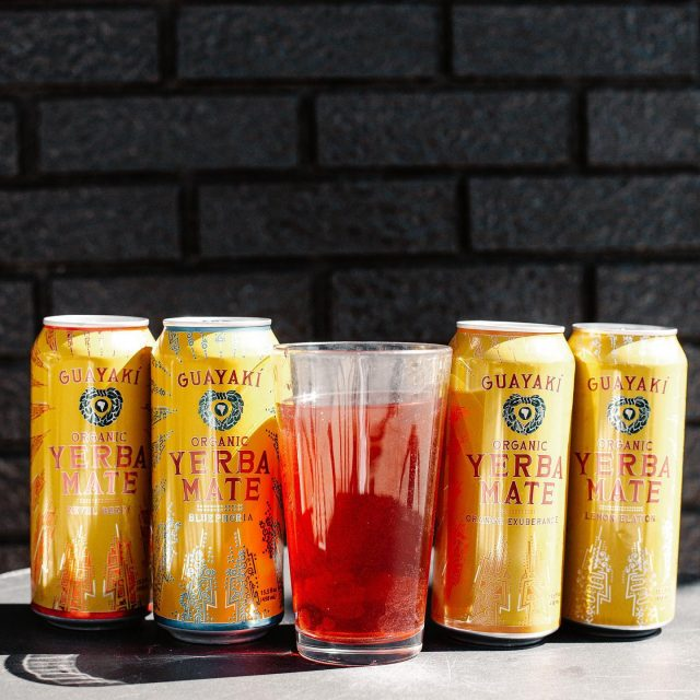 MN is bringing the HEAT this weekend 🥵🔥 Come cool down with a delicious, cold Yerba Mate —  each can packs 150mg of caffeine in a non-carbonated blend of brewed yerba mate and organic fruit juice. Flavors available: Revel Berry, Bluephoria, Orange Exuberance, Lemon Elation