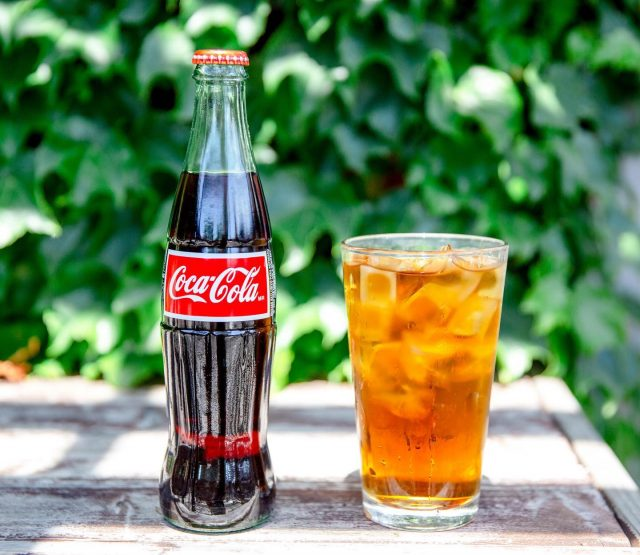the heat is sticking around for the week but we got you covered 🧊 if coffee isn't your thing, try one of our cold colas or ice tea specials!
