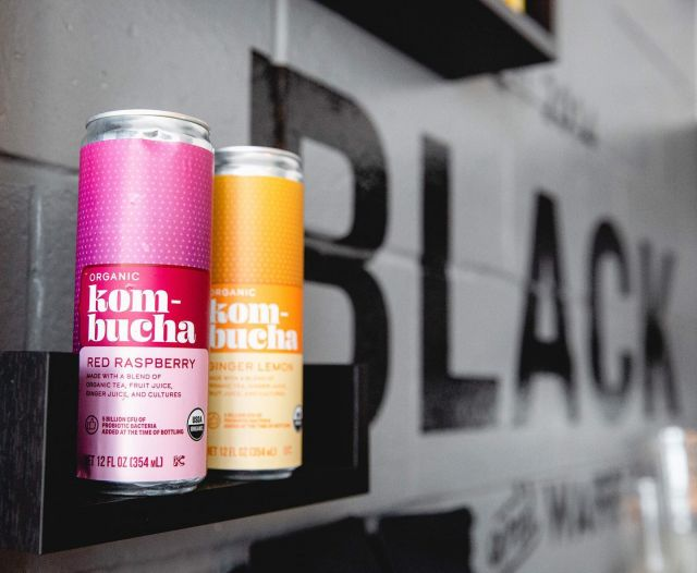 Last weekend of summer 🌞 come grab a featured kombucha or Yerba Mate — perfect pair with any waffle ✨